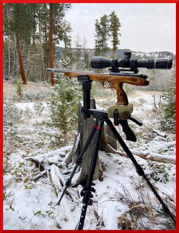specialty pistol hunting hunt deer wyoming Ernie Bishop handguns