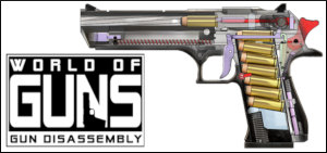 3d firearms modeling gun CGI software encylopedia gun disassembly