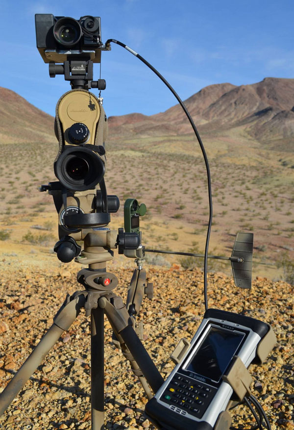 Ashbury Hensolt Zeiss Spotting Scope LRF Laser Kestrel Trimble Nomad