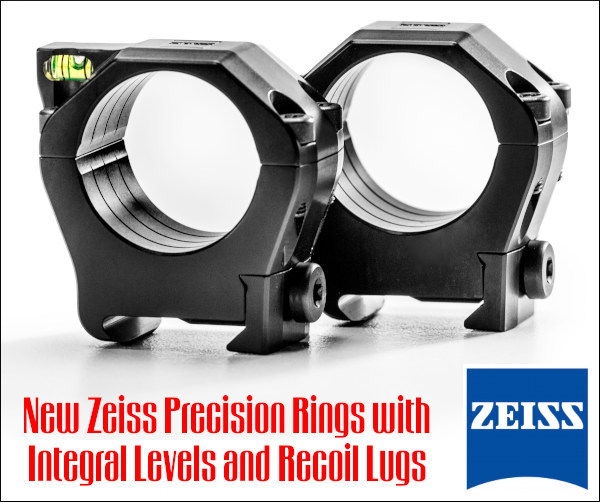 Zeiss Precision Ring Set 30mm 36mm 34mm alumininum mil-spec Picatinny tactical
